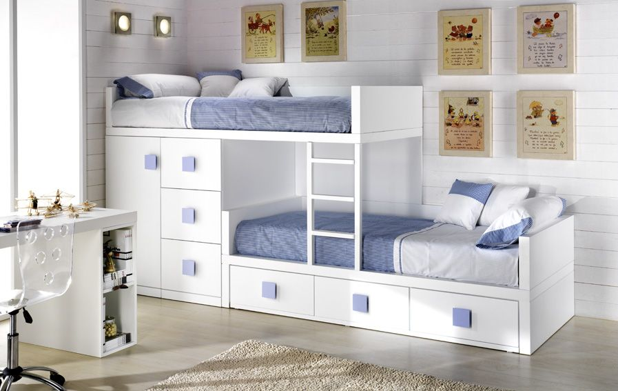Decoracion de cuartos para 2 ni os de 8 a 12 a os google search dormitorios compartidos - Habitaciones infantiles ninos 2 anos ...