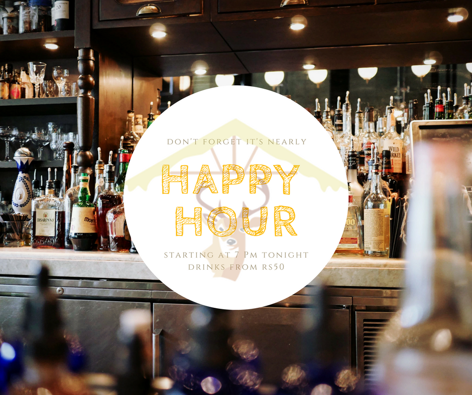 Its Friday Our Happy Hour Starts At 7 Pm At La Bonne Chute