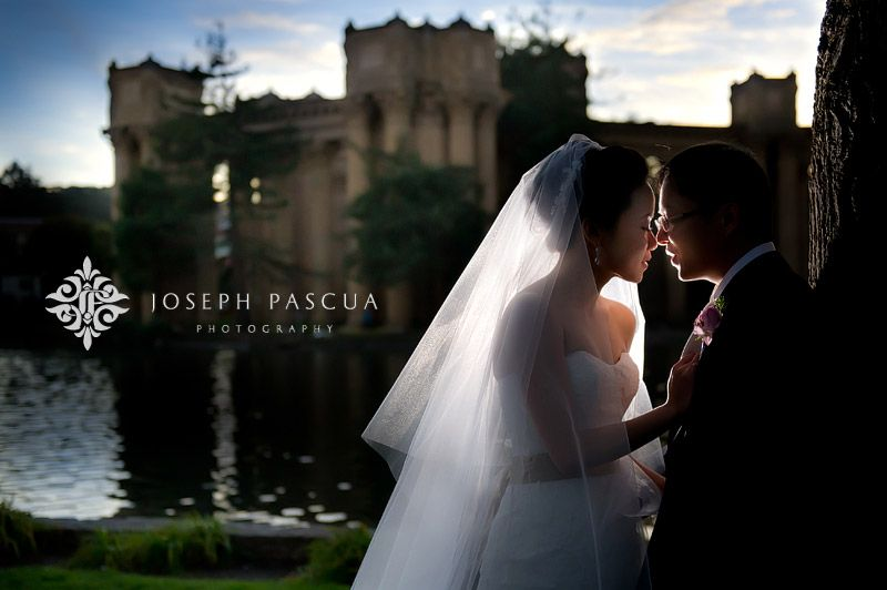 Romantic Kiss at the Castle