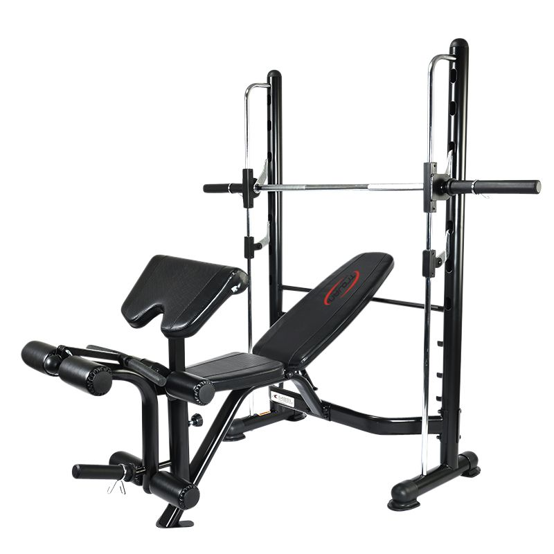 Benches trojan half smith machine bench combo with