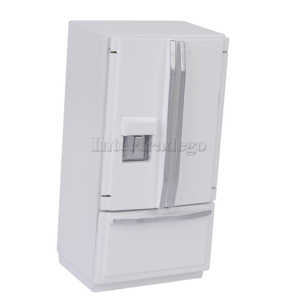 1/12 Scale Fridge with ice maker, of course! And I can change its ...