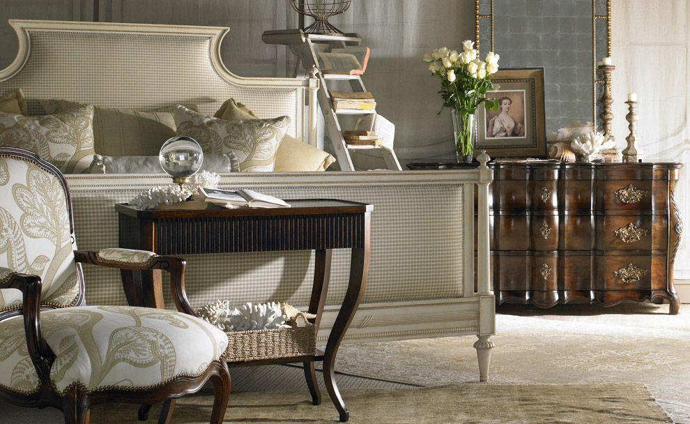 Traditional bedroom furniture from Hickory White in
