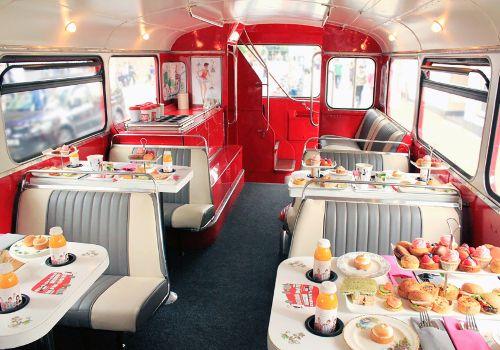 B Afternoon Tea Bus Tour