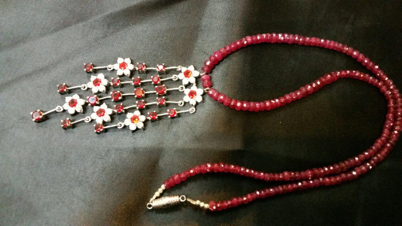 عقد احجار كريمه Cross Necklace Friendship Bracelets Embroidered Friendship Bracelet
