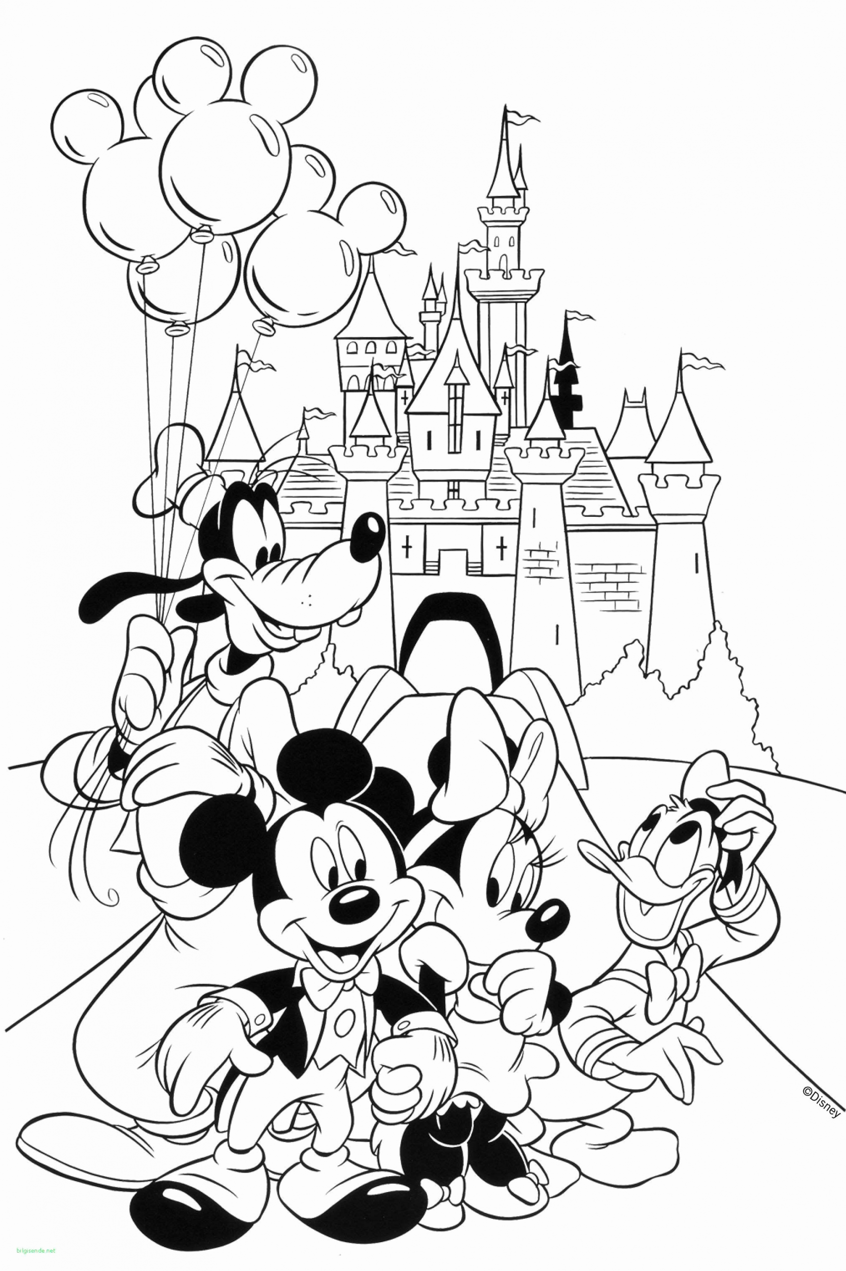 Coloring Pages For Kids Disney Characters In Cartoon Disney Coloring Pages Cartoon Coloring Pages Mickey Mouse Coloring Pages