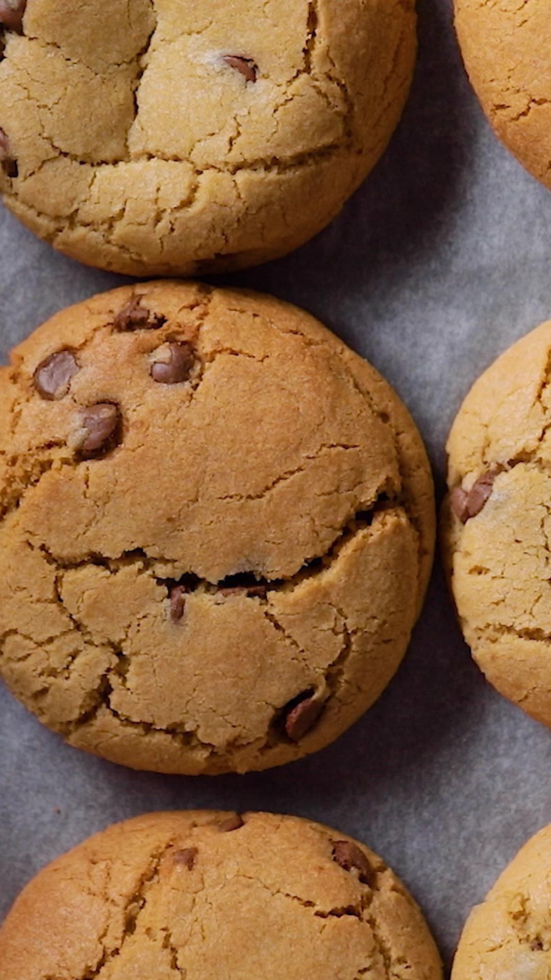 Cookies au coeur de brownies coulant
