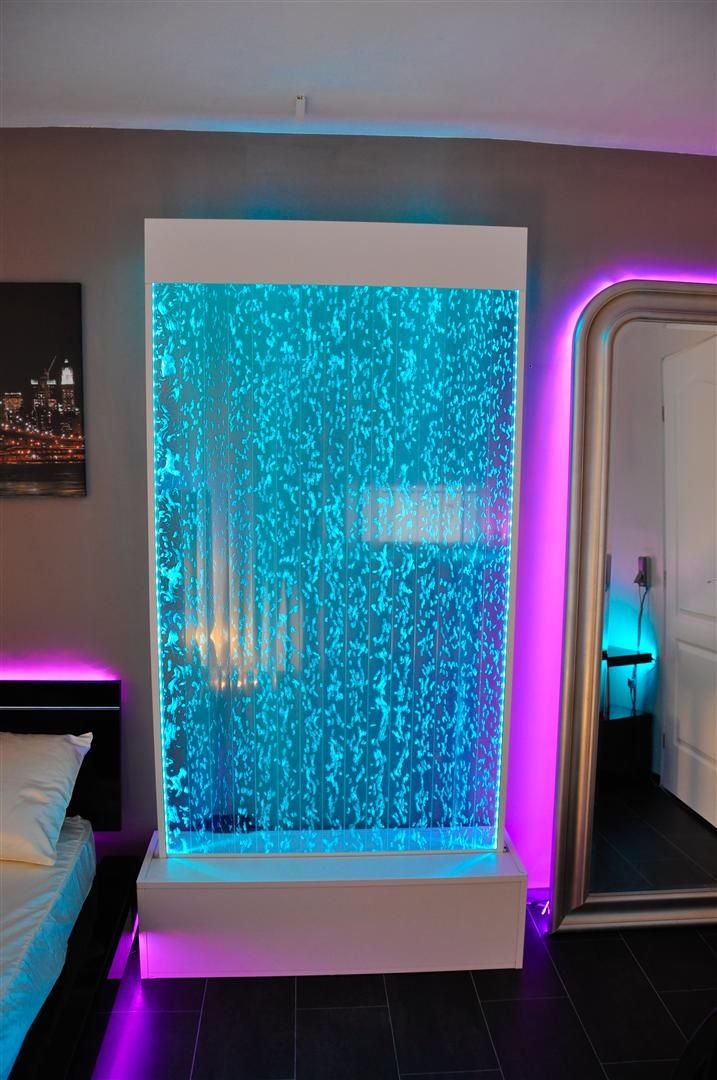 tutoriel photo vid o mur de bulles led bubble wall. Black Bedroom Furniture Sets. Home Design Ideas