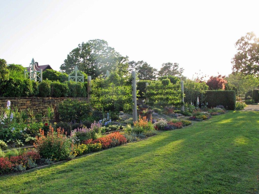Home vegetable garden design  lower terrace garden Moss Mountain  For the Home  Pinterest