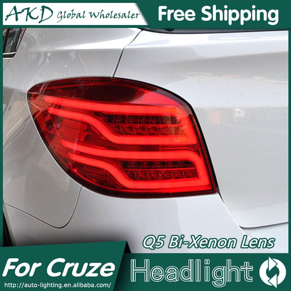 Akd Car Styling For Chevrolet Cruze Tail Lights Cruze Hatch Back