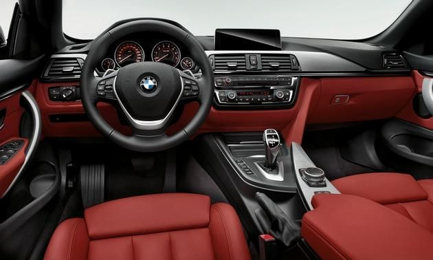 Red Interior Optional On Bmw 4 Series Convertible