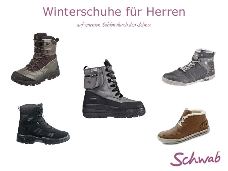Bei Kälte, Schnee und Eis dürfen warme #Winterschuhe für #Herren nicht fehlen!