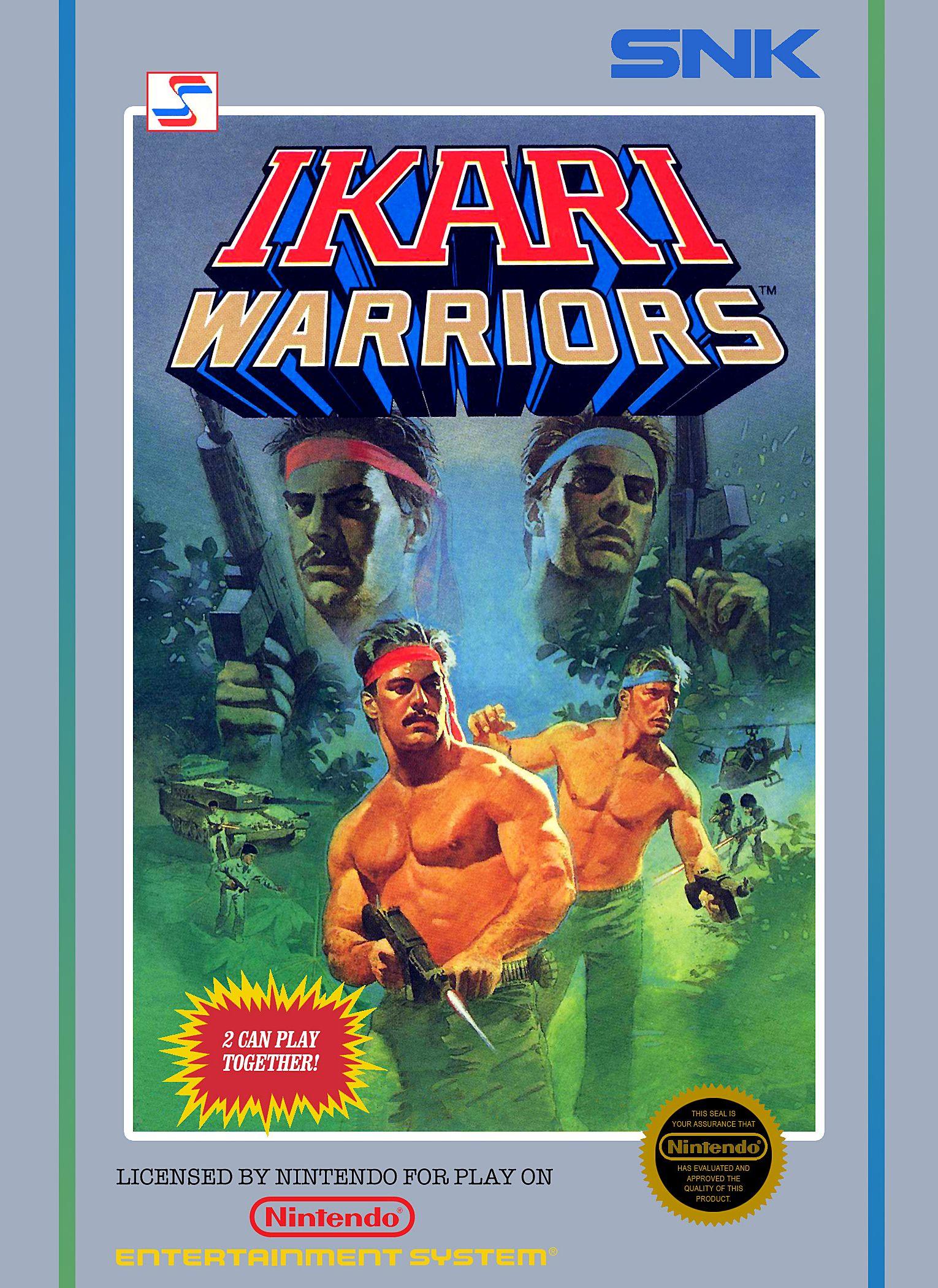 ikari warriors nes cover Google Search Nintendo nes