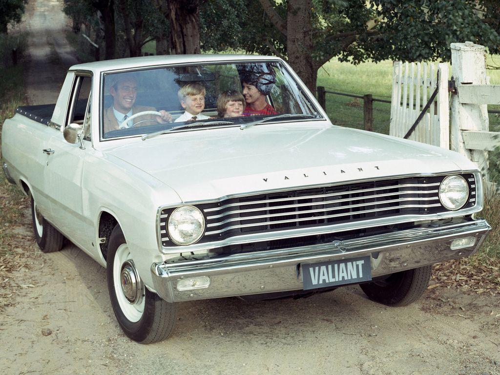 1965 Valiant Wayfarer ute AUTOMOBILE Cars Automobile