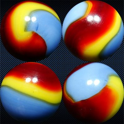 Akro Agate Superman Corkscrew Marble Marble Marbles Images Marble Games