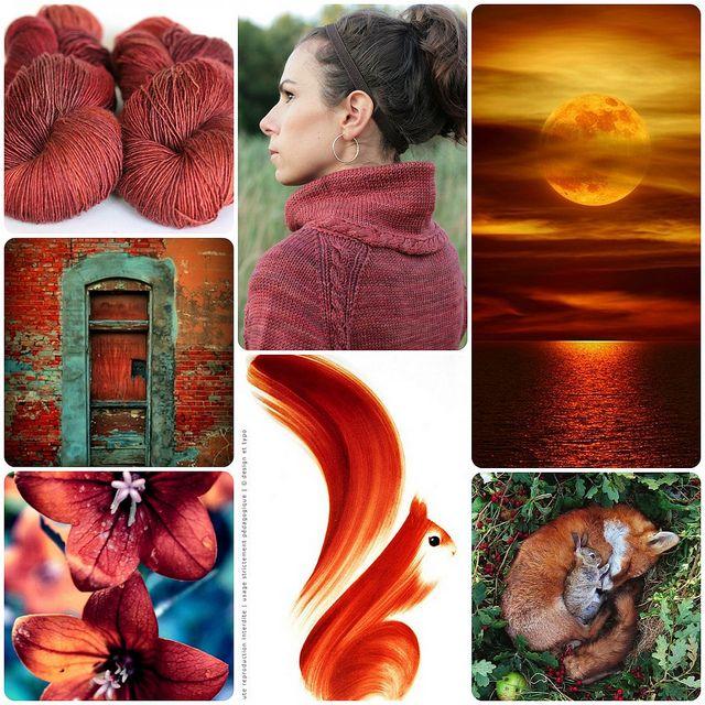 Tanis Fiber Arts: Moodboard Monday - Brick