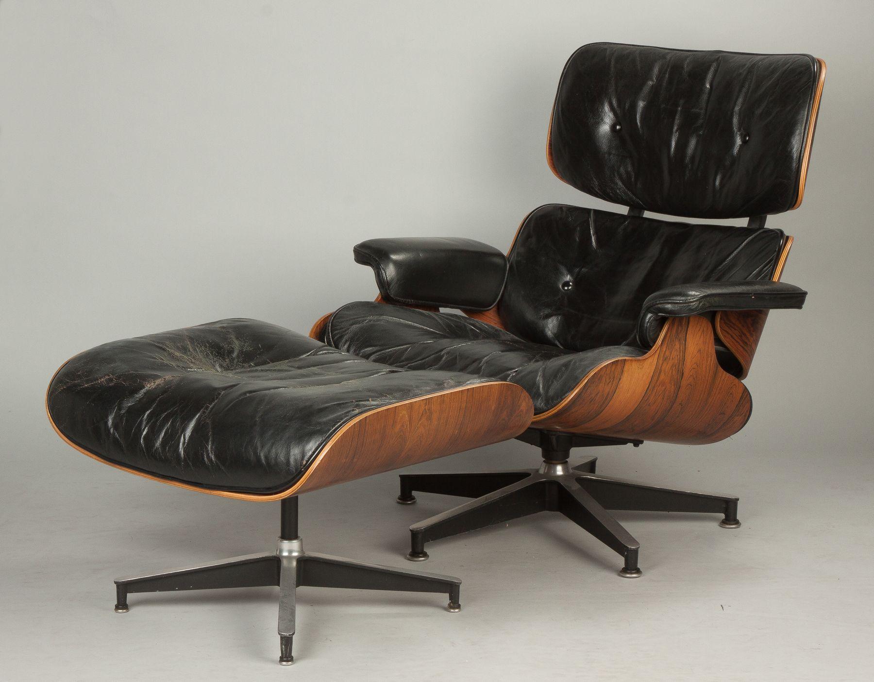 Leder Und Holz Stuhl Und Osmanischen Eames Style Leder Stuhl Nussbaum Eames Lounge Chair Eames Soft Pad Chair Charles Ea Eames Lounge Chair Chair Eames Lounge