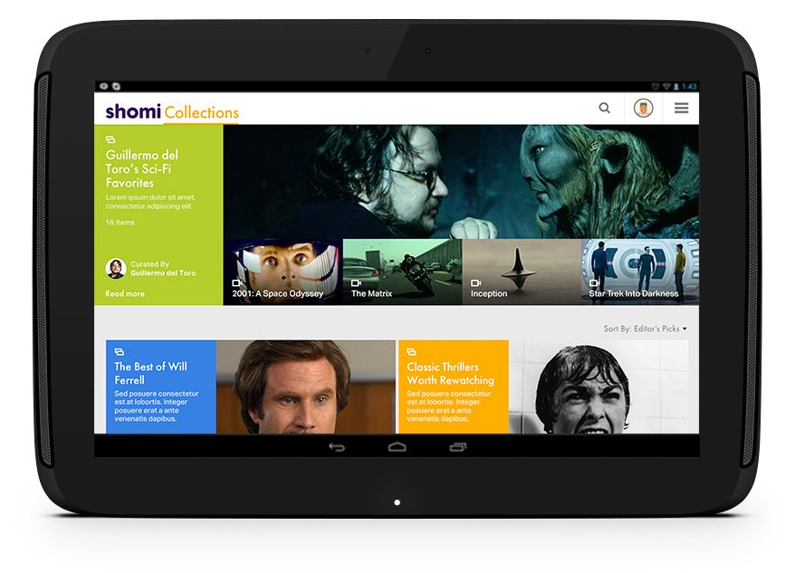 See how Shomi built and designed their bold new SVOD app