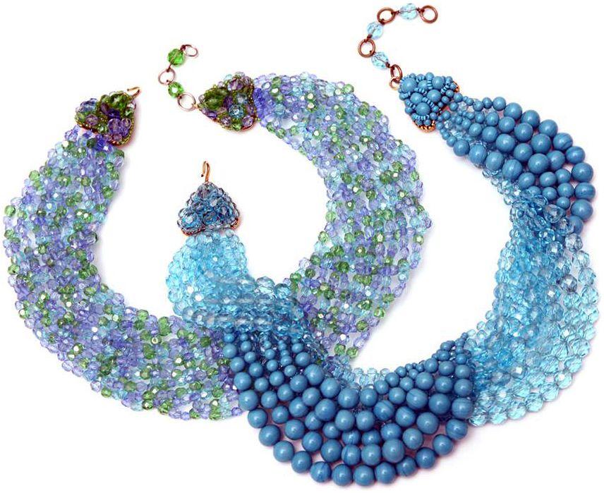 Coppola e Toppo - Colliers - Perles et Cristal