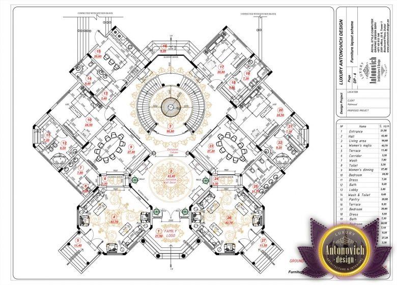 Luxury House Plan In Al Ain 25 By Antonovich Designs Luxury House Plans House Plans How To Plan