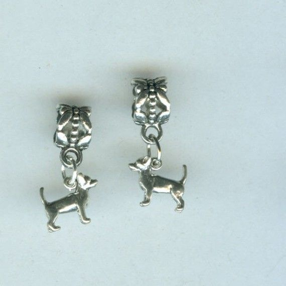 Sterling Chihuahua Bead Charm For Pandora Troll By Shymalillamas 8 00