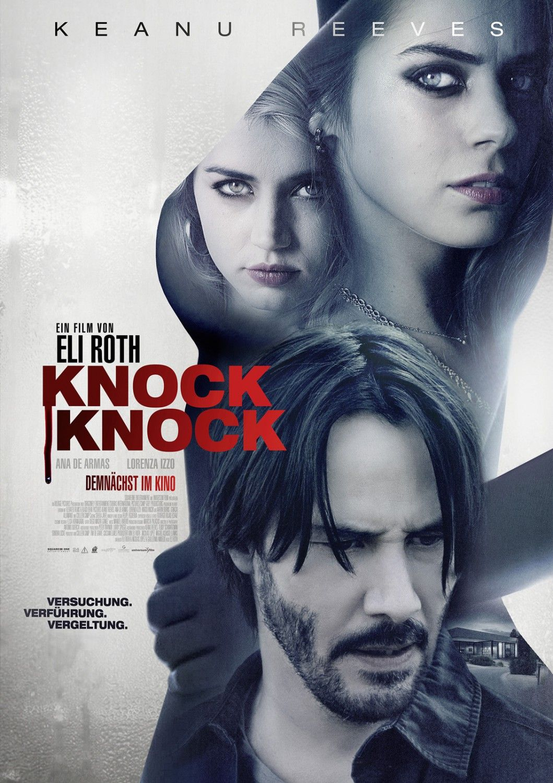 Knock Knock Keanu Reeves Film Films Gratuits A Regarder Affiches De Films D Horreur