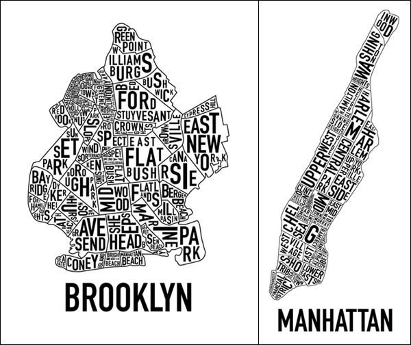 Brooklyn Bronx Queens & Staten, from the Battery to the