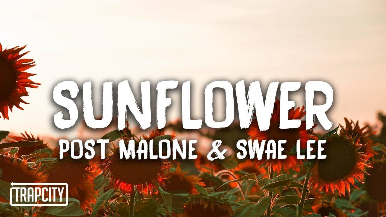 Post Malone Swae Lee Sunflower Post Malone Lyrics Post Malone Music Post Malone