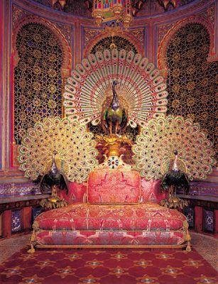 Galleria fotografica il castello di linderhof fm - Immagini pavone a colori ...