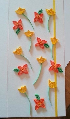 Paper quilling how to spring flowers tutorial carts quilling paper quilling how to spring flowers tutorial mightylinksfo