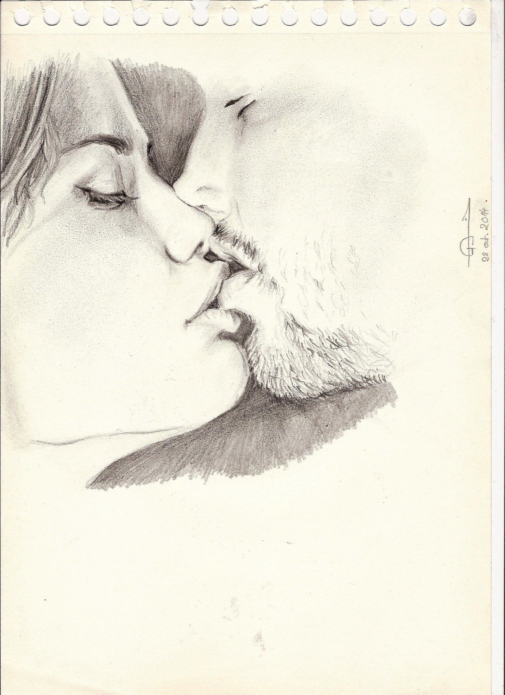 Sexy kiss artwork google search