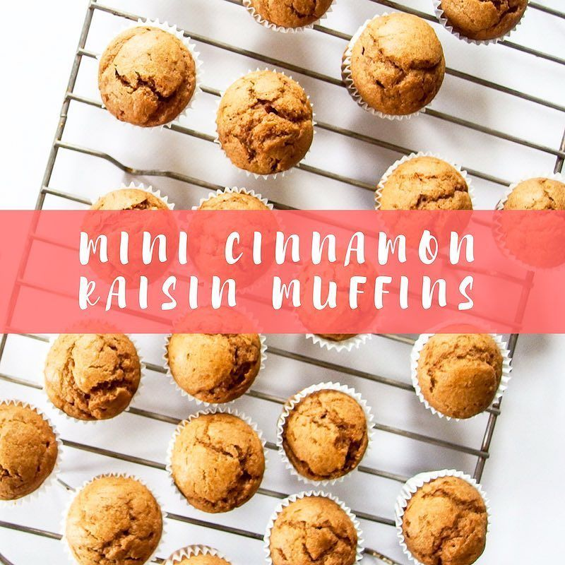 The cutest darn mini muffins ever  .  Even though these muffins are small they pack a lot of flavor thanks to our Cinnamon Raisin PB  . For this full recipe by our Friendly Face Influencer Gabby from @livelaughyum check out our #wildfriends blog. Link in profile! .  #muffins #yum #wildfriendsfun