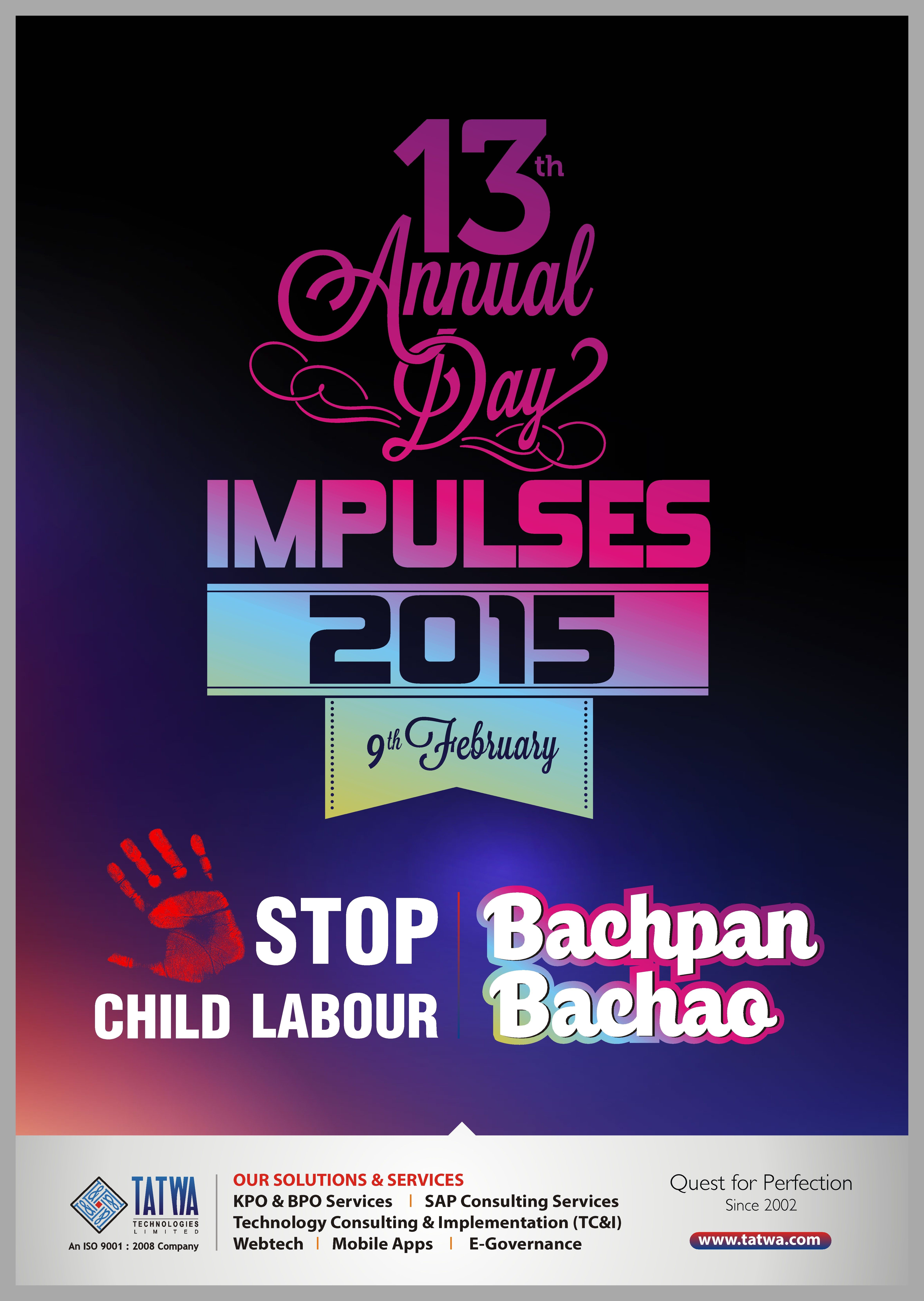 Poster design company - Poster Annual Day