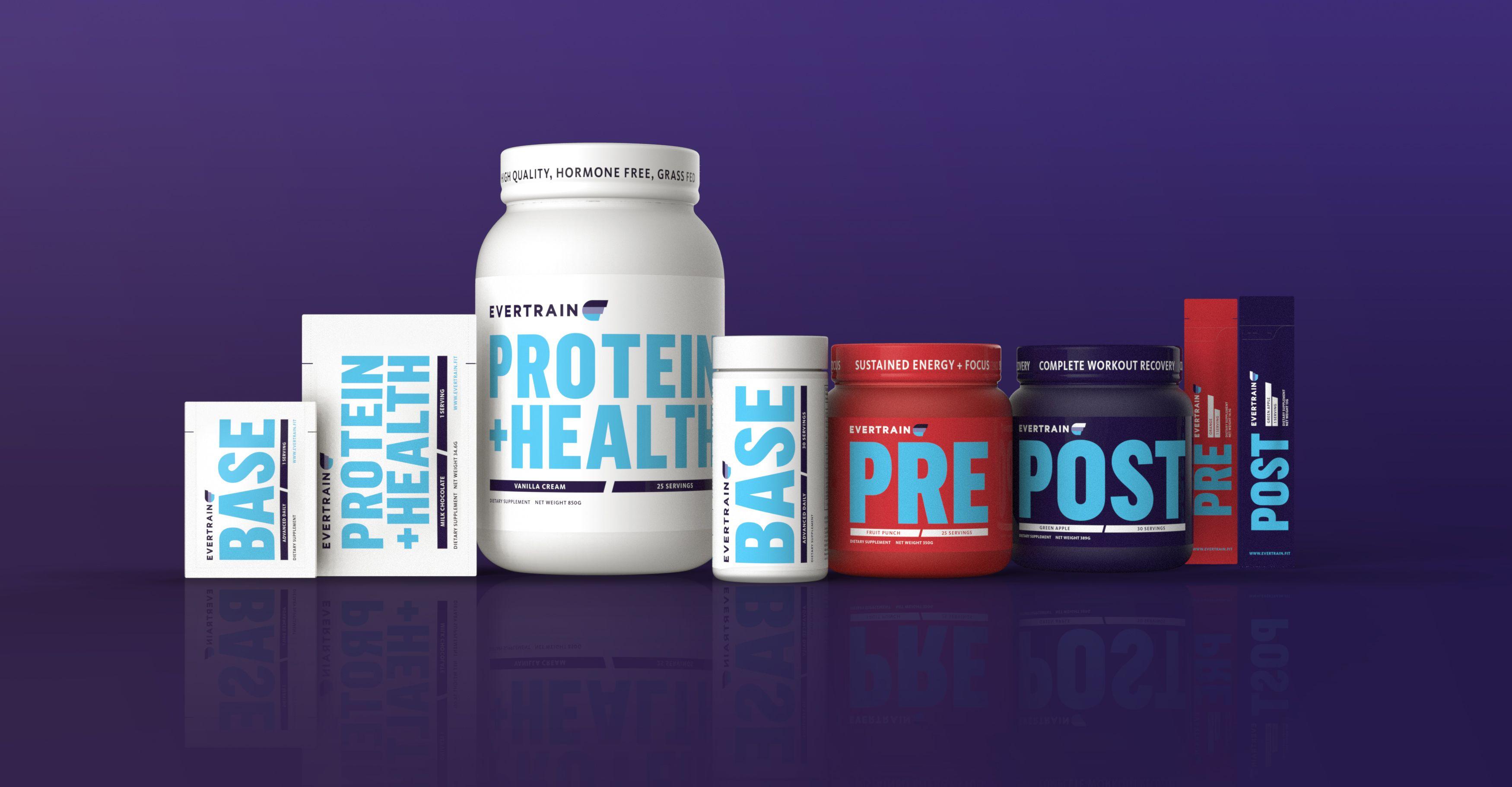 Evertrain Supplements Packaging Supplements Sports Supplements