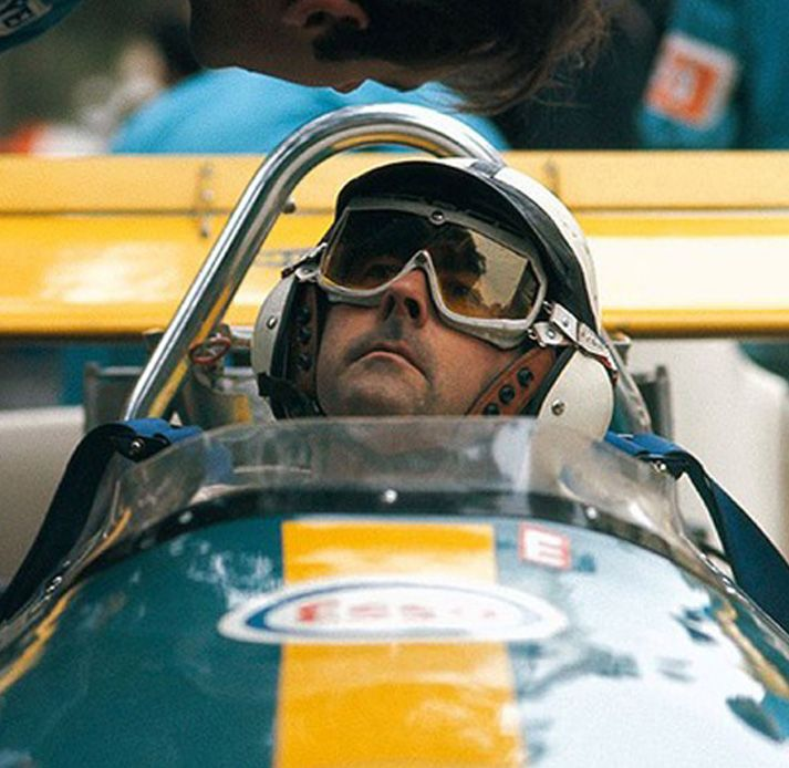 Jack Brabham Monaco Just Love This Photo Haunting A World Champion Focused Classic Racing Cars Racing Indy Cars