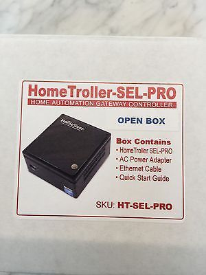 HomeSeer HomeTroller SEL PRO Home Automation Controller