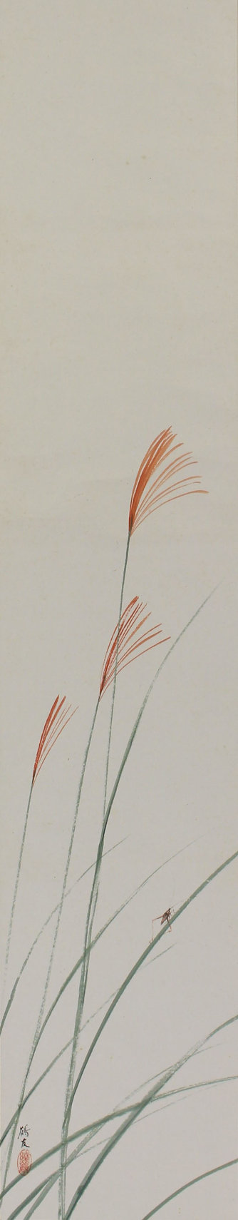 Image result for Japanese paintings and artwork pampas grass