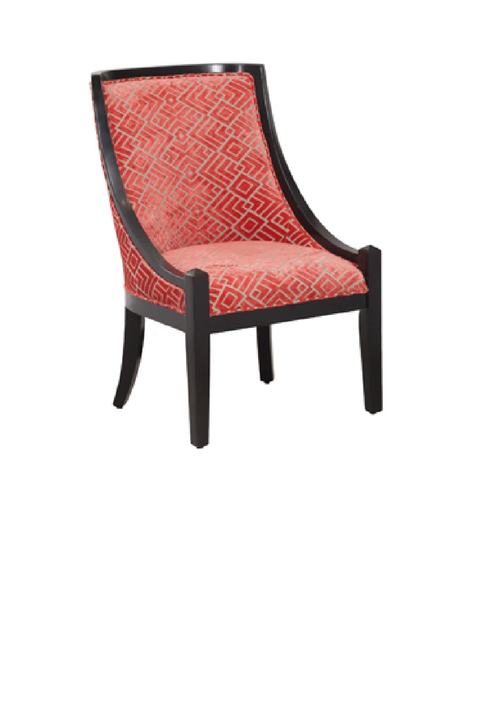 Sears Accent Chairs L Powell Aria Accent Chair Red Products Accent Chairs Chair