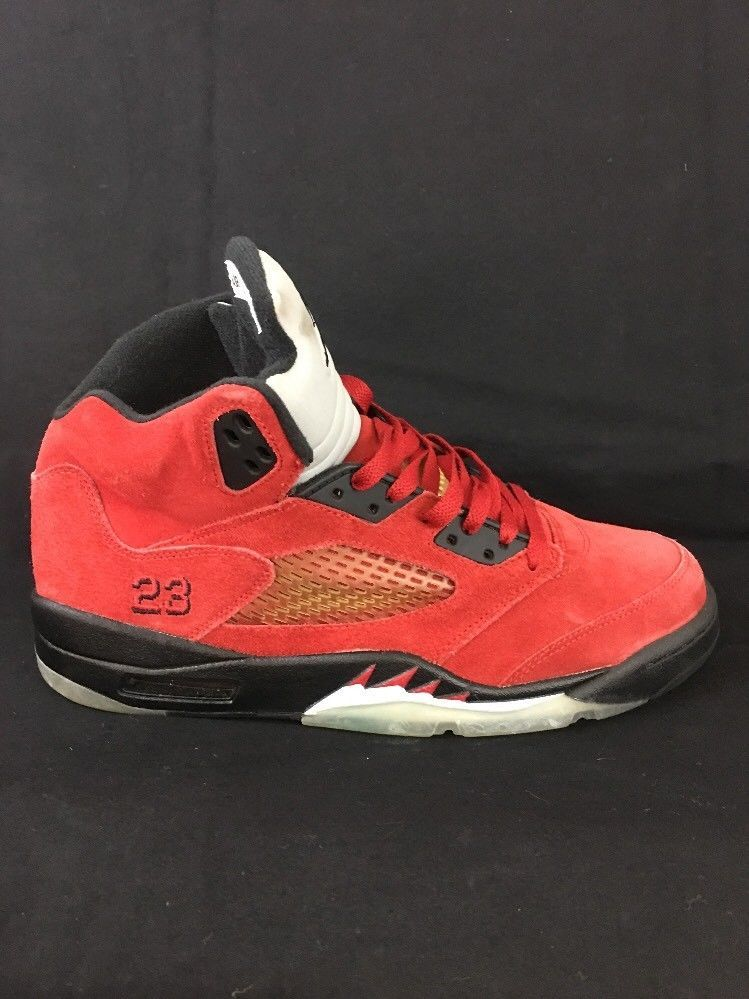 pretty nice 59bbe 31441 Nike Air Jordan 5 Retro RAGING BULL Mens SZ 9.5 SINGLE RIGHT SHOE ONLY  Amputee   eBay