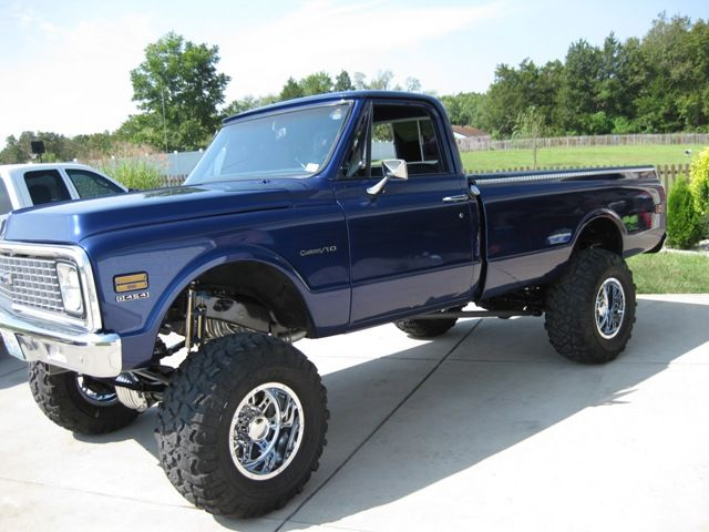 71 72 Chevy 4x4 Trucks 71 Chevy Trucks For Sale Chevy Trucks