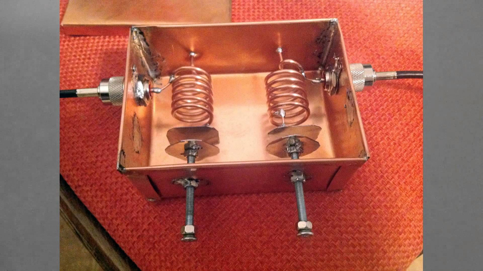 145 Mhz Low Loss Bandpass Helical Filter By Mile Kokotov Youtube