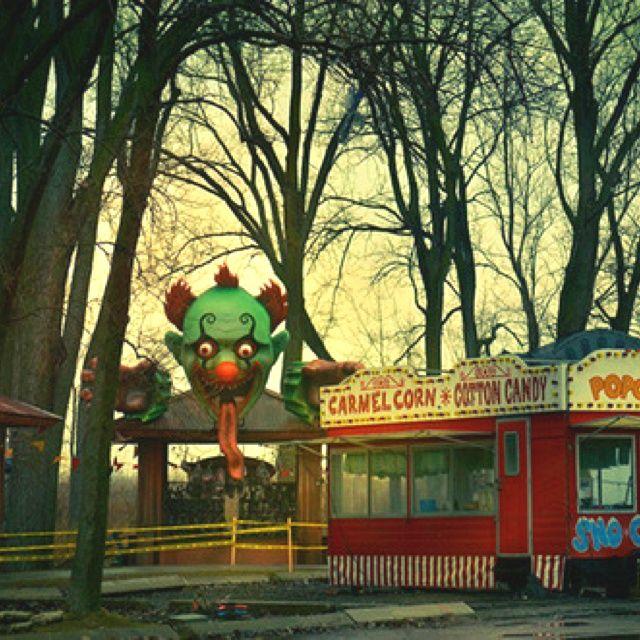 Abandoned Carnival.