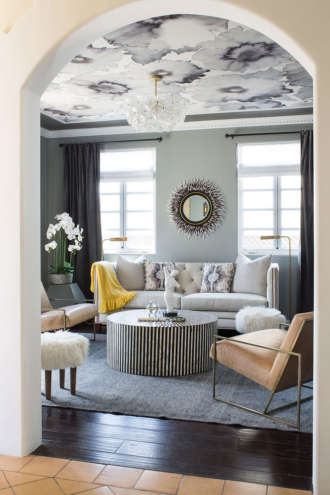 Showhouse Gallery Grasscloth Wallpaper Natural Wallcoverings