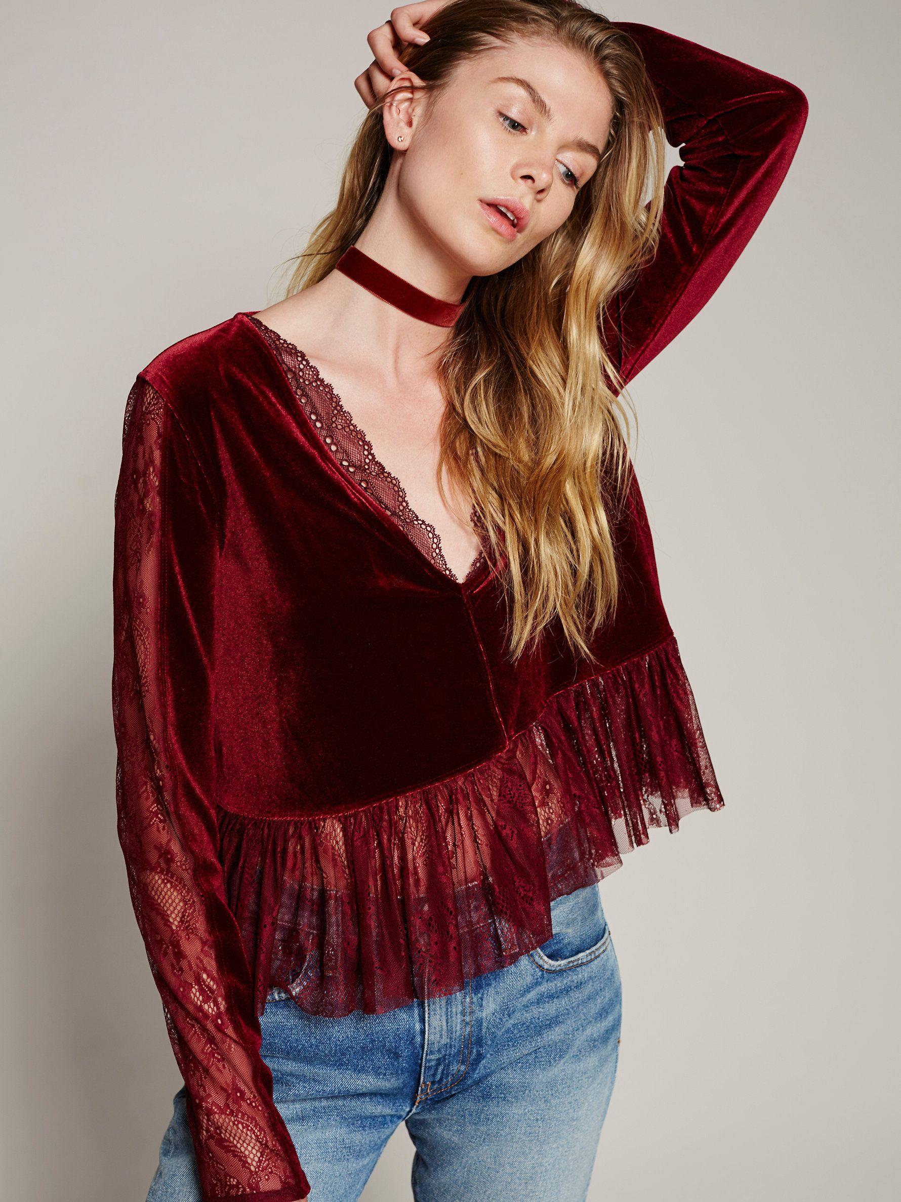 b02279f1d30d7d Lolita Top at Free People Clothing Boutique