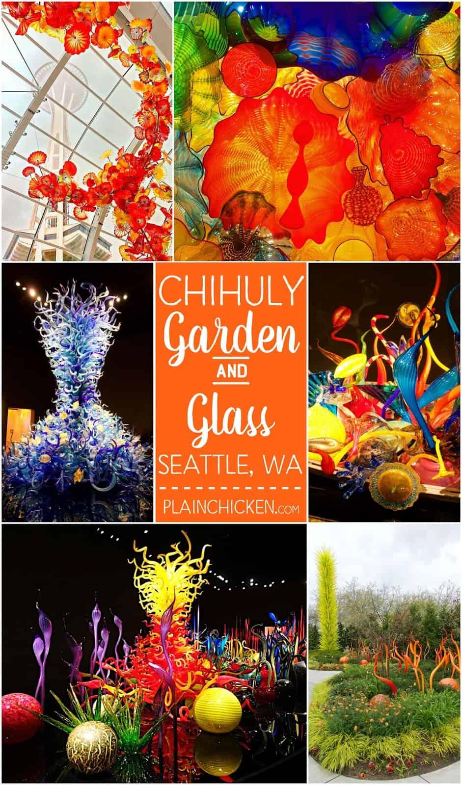 Chihuly Garden And Glass Seattle Wa Plain Chicken In 2020 Chihuly Glass Art Projects Broken Glass Art