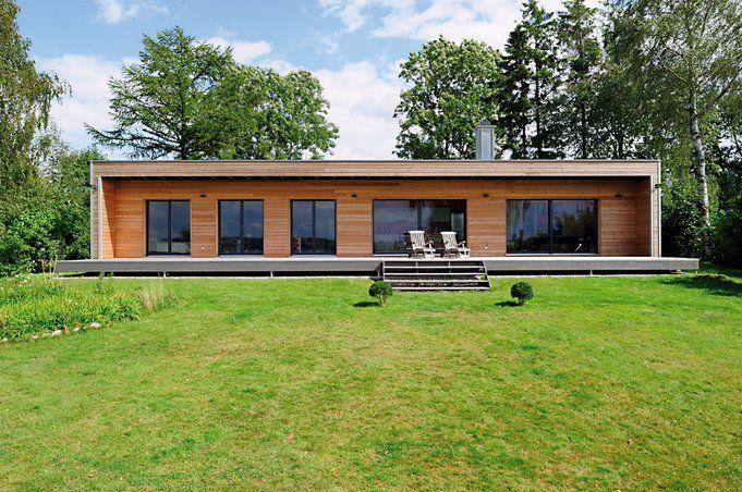 auenansicht baufritz moderner bungalow