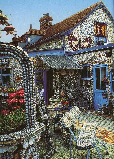 wow, can you say mosaic Bohemian Style -Decor- Pinterest - fachadas originales