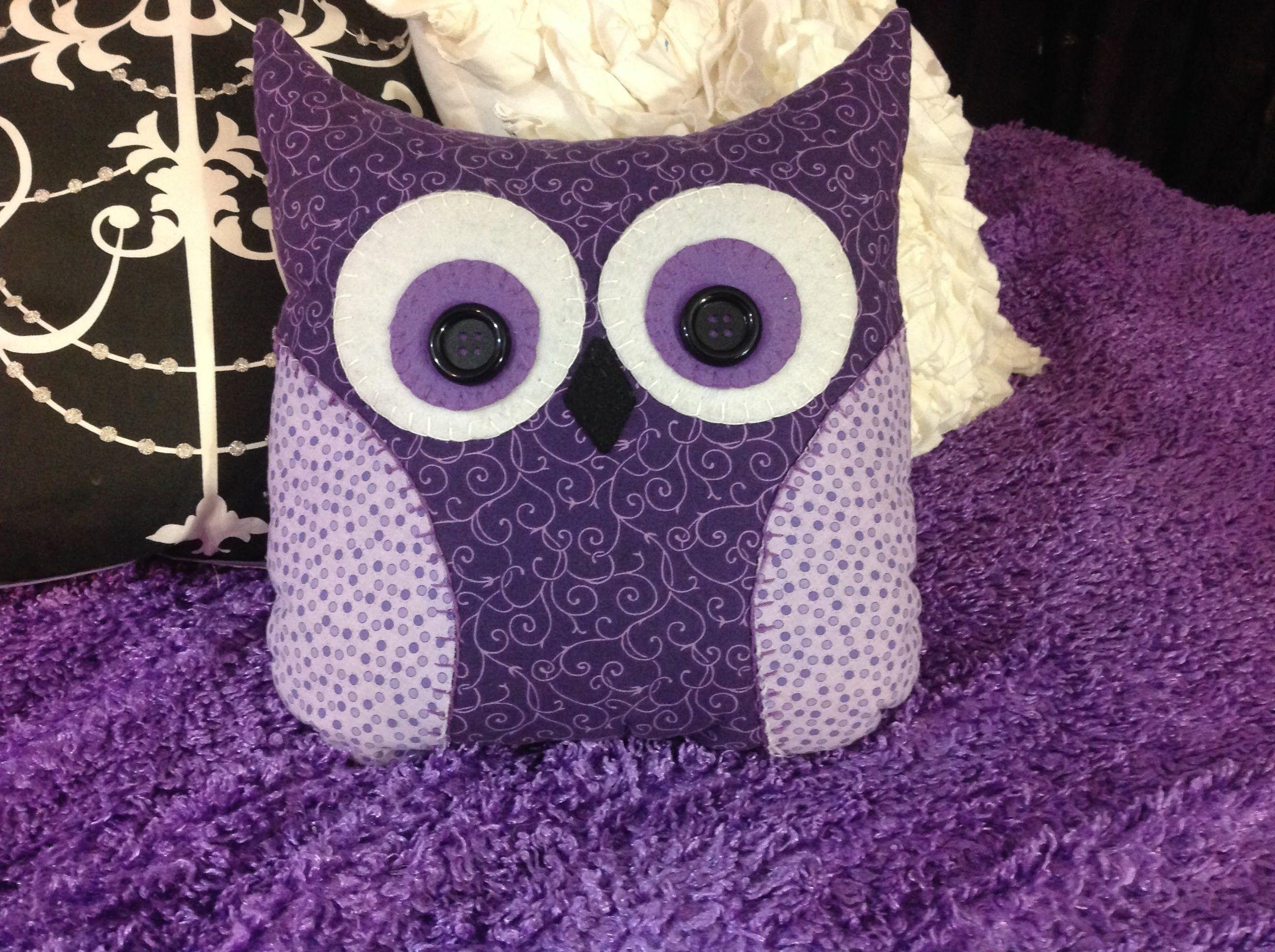 DIY Decor Ideas for Purple Lovers. Owl Pillow PatternPillow ... & DIY Decor Ideas for Purple Lovers   Owl pillow Owl and Pillows pillowsntoast.com