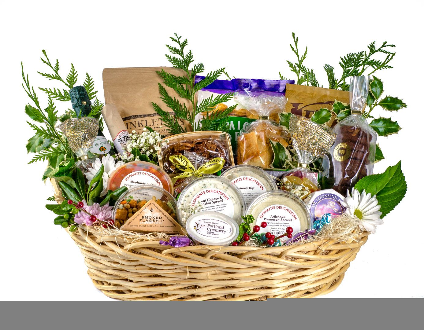 Gourmet Gift Baskets Elephants Delicatessen Perfect Gift Opinions For Special Days Valentines Day Di In 2020 Business Gifts Gourmet Gift Baskets Gifts For Fiance