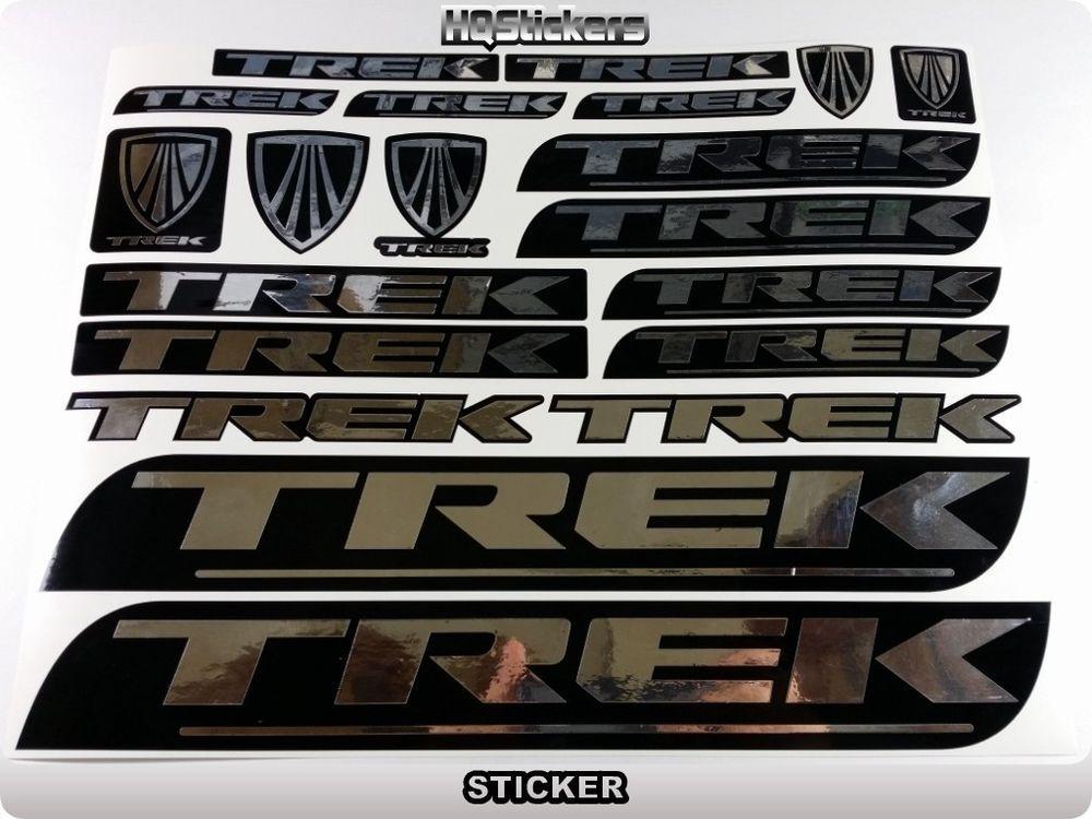 Trek Bicycle Frame Decal Sticker Set MTB//Road Bike