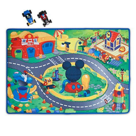 Mickey Mouse Clubhouse - Mickey Donald Play Mat Vehicles Play Set - 3-pc  Disney
